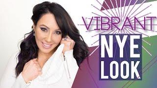 Vibrant New Years Eve Makeup| Makeup Geek