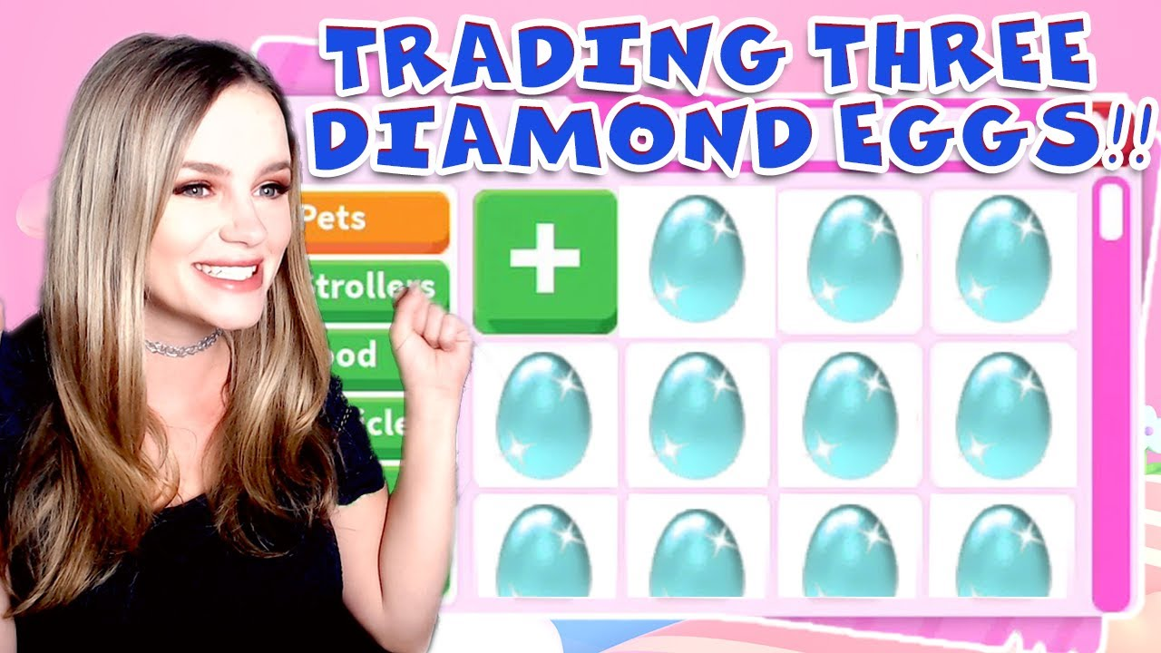 What People Offer for *THREE* DIAMOND EGGS + GIVEAWAY (Roblox Adopt Me)