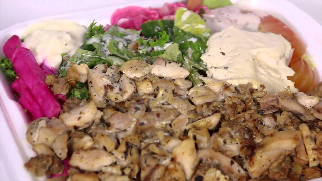 How many calories are in this chicken shawarma platter for Ali baba s middle eastern cuisine