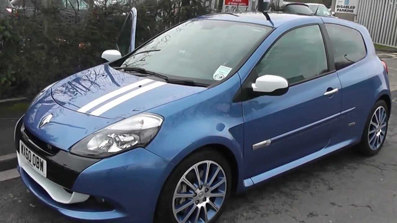 wx60obw used renault clio sport gordini 200 in blue at wessex garages pennywell rd bristol. Black Bedroom Furniture Sets. Home Design Ideas