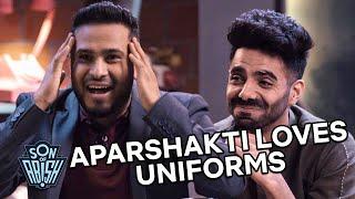 Aparshakti Khurana loves uniforms