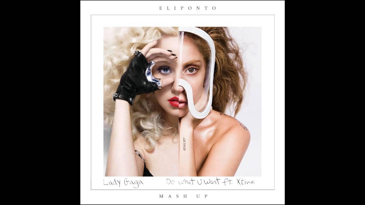Lady Gaga - Do What U Want (feat. Christina Aguilera ...Do What You Want Lady Gaga Single Cover