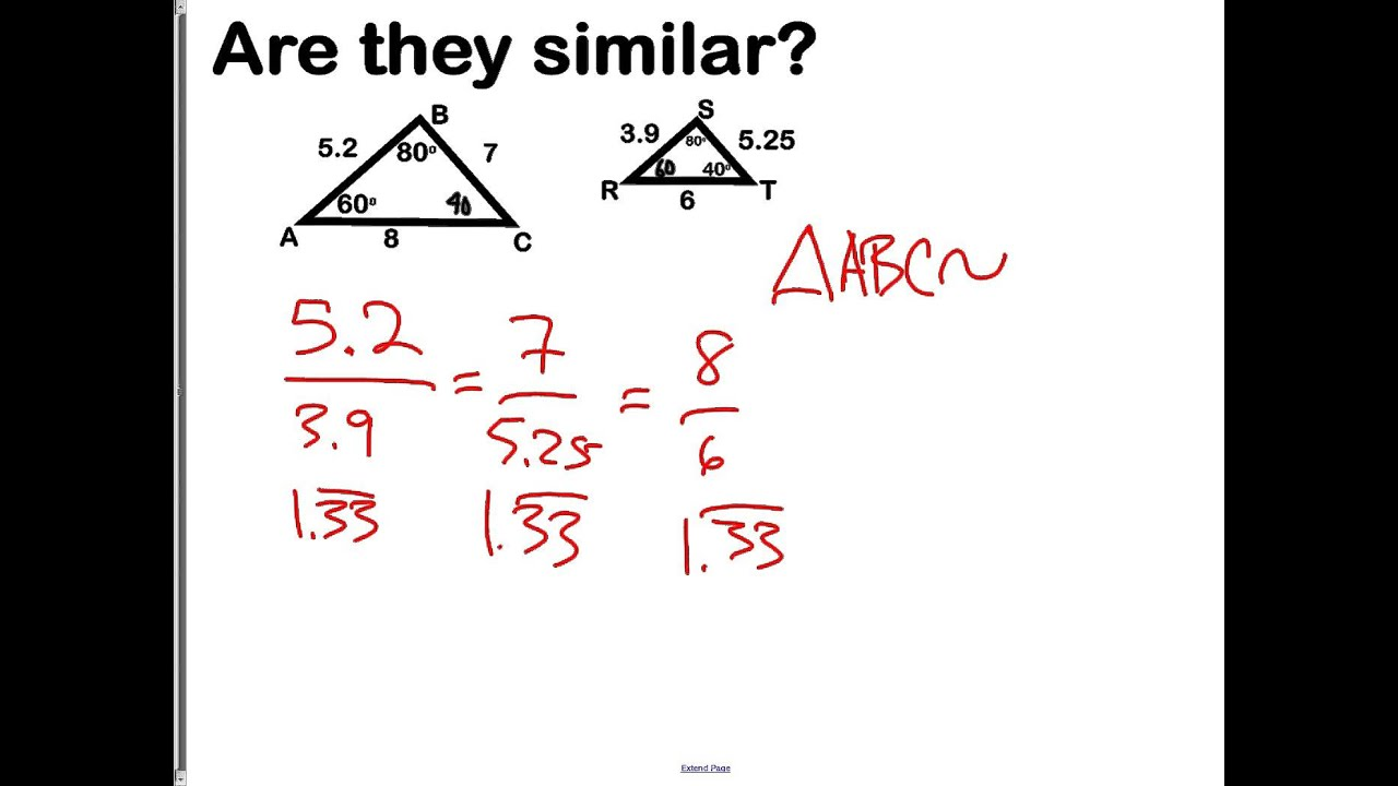worksheet Geometry Similarity Worksheet 6 2 similar polygons youtube