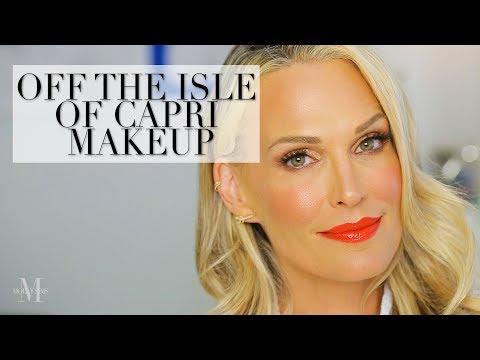 Summer Makeup Tutorial: Off the Isle of Capri