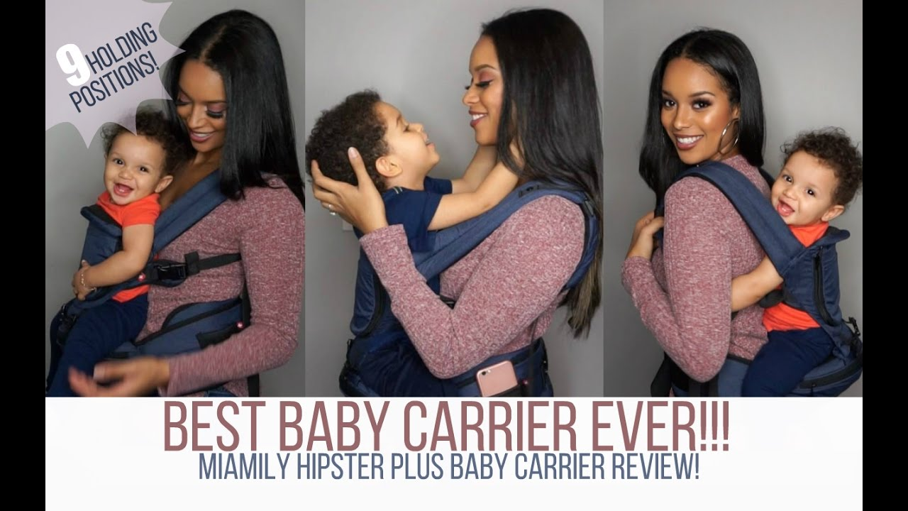 Mommymusthaves Miamily Hipster Baby Carrier Review