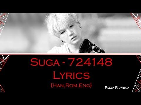 Free Download Agust D - 724148 (lyrics) {suga Of Bts} [han,rom,eng] Mp3 dan Mp4