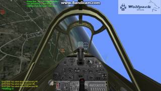 An Aces High run in a P-40N