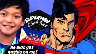 SUPERMAN FIL- AM CLARK KENT BEATS MICHAEL PHELPS 23 YEAR OLD RECORD