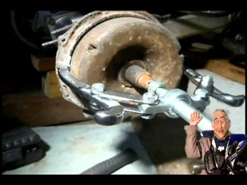 Quad Repair On Brake Drum Removal Youtube