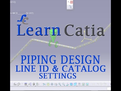 Catia mechatronic systems engineer tubing / piping modelica.