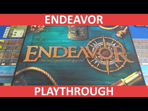 Endeavor: Age of Sail - Playthrough - slickerdrips