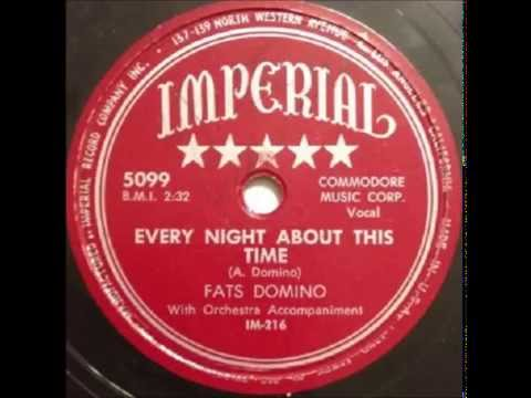 Fats Domino - Every Night About This Time (version 1) - September 1950