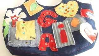 Сумки из ткани своими руками. Bag made of cloth.(Сумки из ткани своими руками. Bag made of cloth. Подробности на блоге http://natalyhandmade.ru/, 2015-04-03T12:16:09.000Z)