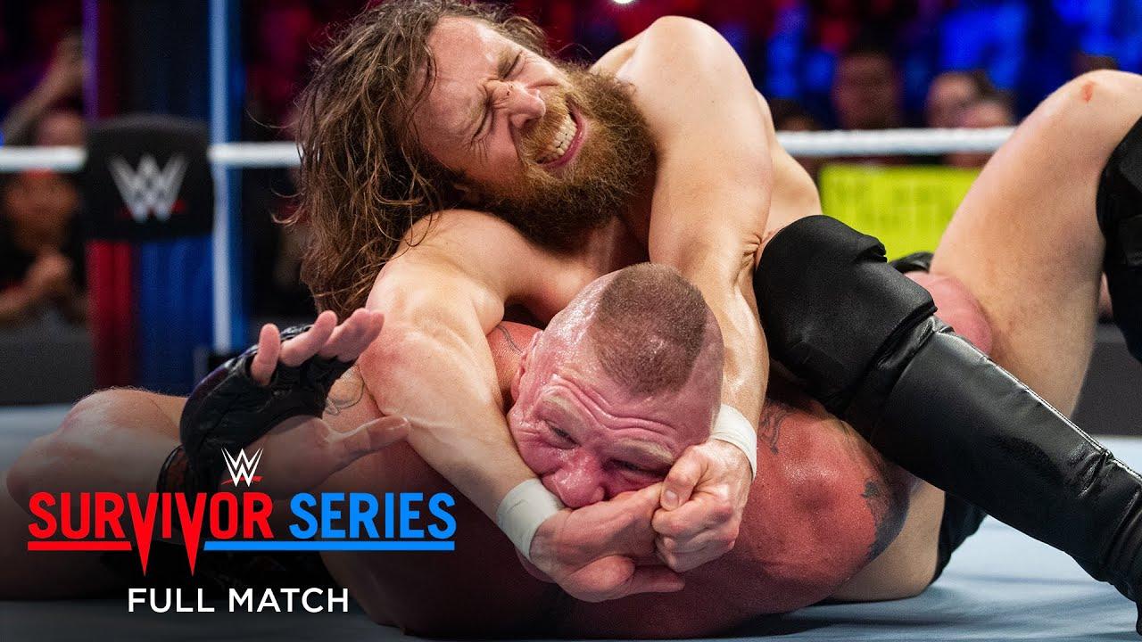 Download FULL MATCH - Brock Lesnar vs. Daniel Bryan - Champion vs. Champion Match: Survivor Series 2018