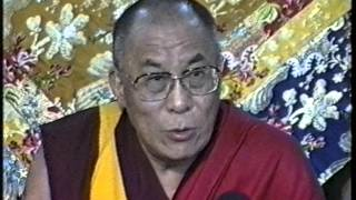 Tibetan: H. H. the Dalai Lama talks on Dolgyal (Shugden) issue.1996