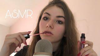 ASMR- Lipgloss & Mascara Sounds! (Mouth Sounds) [ASMR German/Deutsch]