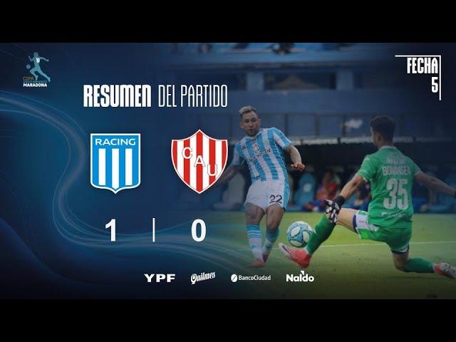 Copa Diego Maradona | Fecha 5 | resumen de Racing - Unión