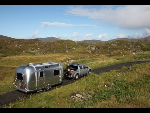 Hebrides Summer 2013 - Airstream, Motorbike, & Dougal the Dog