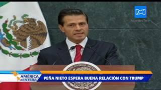 Enrique Peña Nieto reitera que no pagará el muro en la frontera con EE.UU.