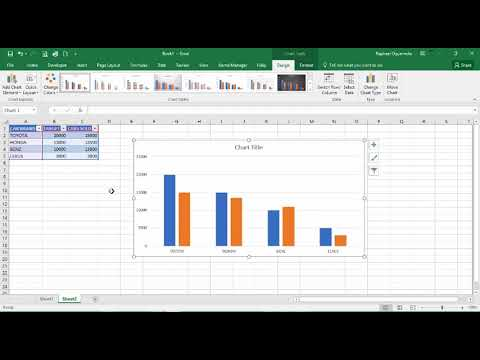 Learn How To Create Interactive Pivot Charts in Excel (Chart changes when data changes)