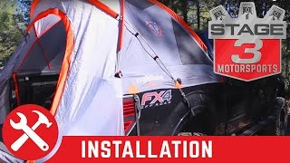 F-150 and Super Duty Rightline Gear Truck Bed Tent Install