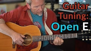 OPEN E TUNING (Bob Dylan/Stones/Joe Walsh) - Alternate Guitar Tunings - Guitar Discoveries #53