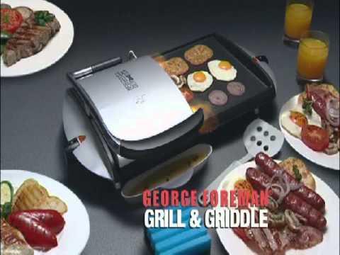 George Foreman Grill & Griddle.wmv