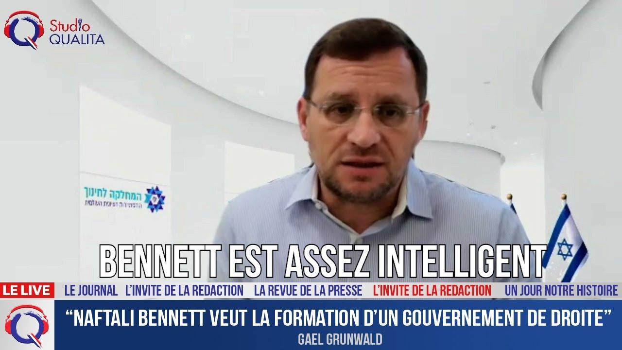 """""""Naftali Bennett veut la formation d'un gouvernement de droite"""" - L'invité du 27 avril 2021"""