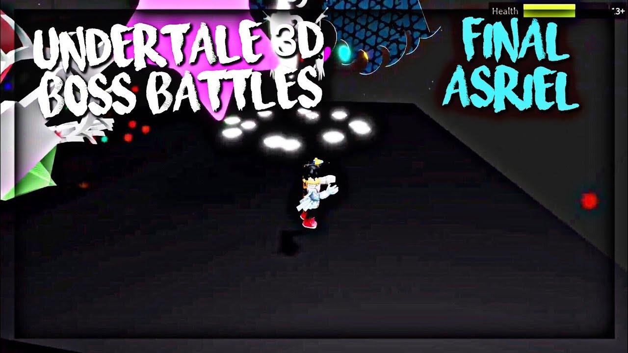 Undertale 3d Boss Battles Sans