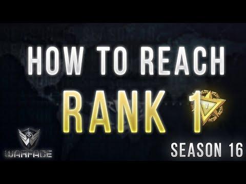 10 Tips On How To Reach RANK 1 |Warface