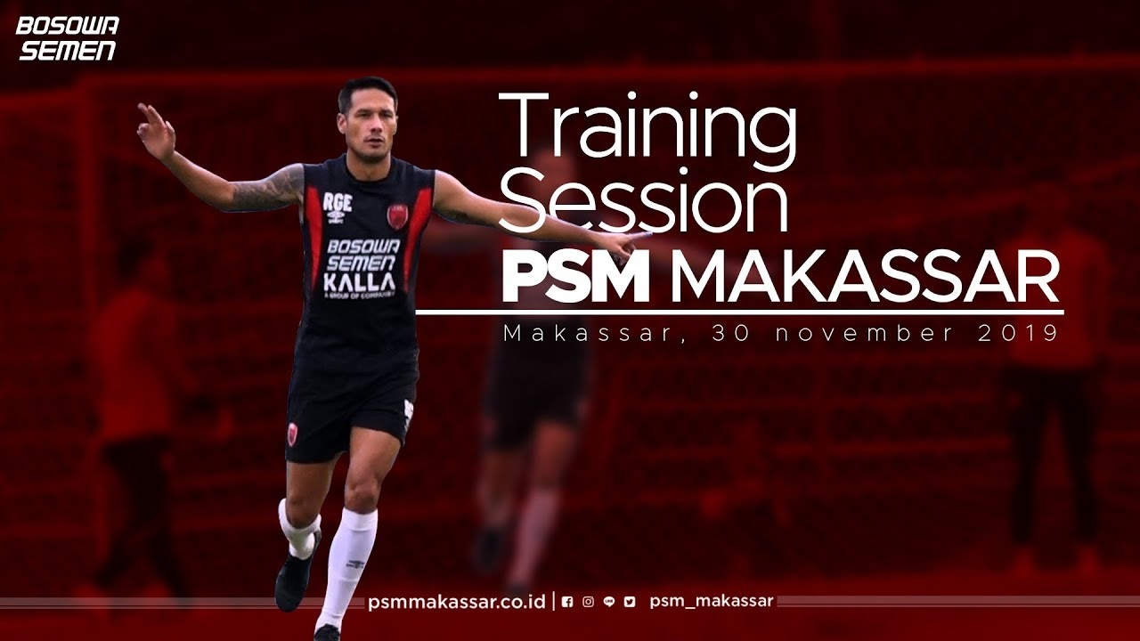 Training Session Jelang Laga Psm Makassar Vs Borneo Fc