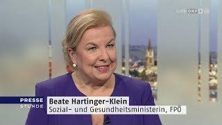 Beate Hartinger-klein - Pressestunde - 3.2.2019