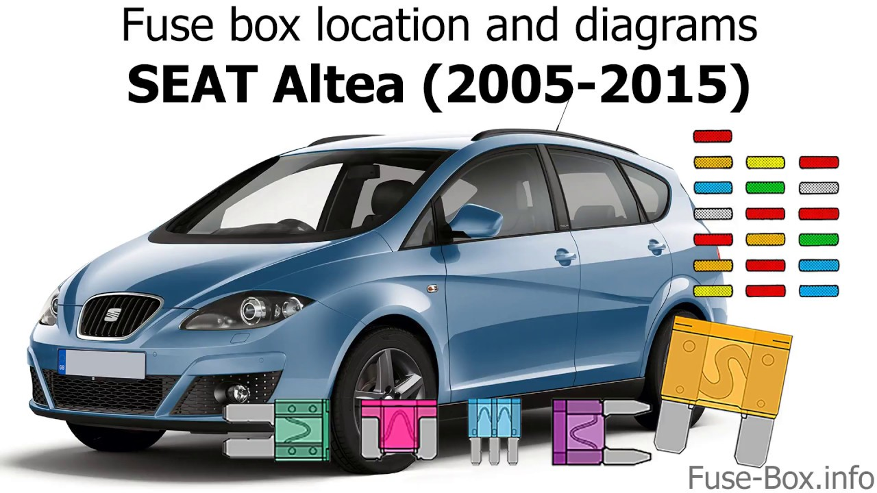 Fuse box location and diagrams: SEAT Altea (2005-2015) - YouTube Xl Fuse Box on