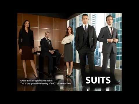 """Suits Theme Song -(with Lyrics) """"Greenback Boogie"""" by Ima Robot"""