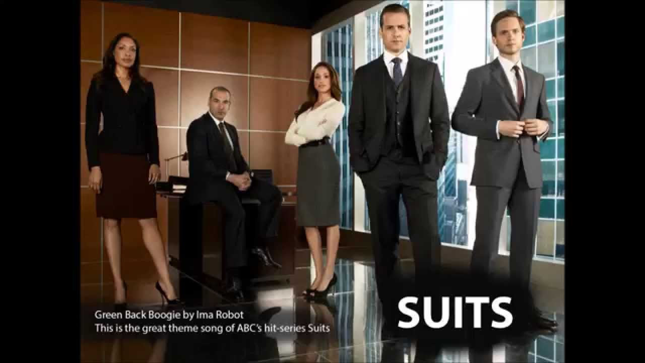Suits Theme - Lyrics - Greenback Boogie - Ima Robot (HD ...