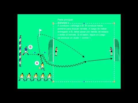 Sesion Entrenamiento De Futbol Para Ninos De 7 8 Anos