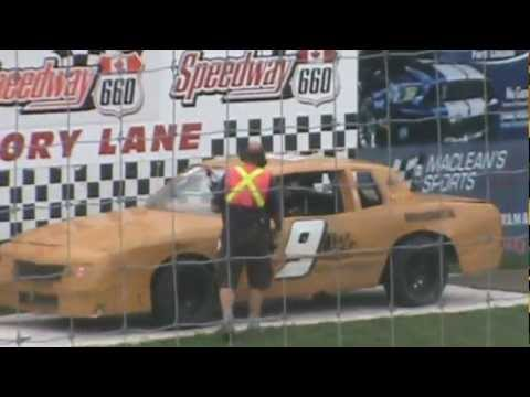 Cannon Security Racing Rob Pethic Takes Checkered flag Speedway 660