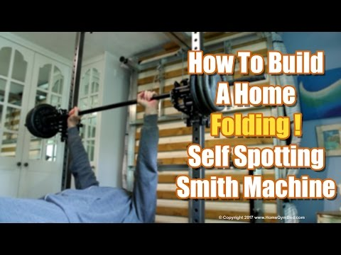 Homemade Gym Equipment – DIY Smith Machine