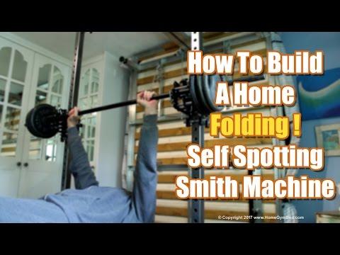 Homemade Gym Equipment – DIY Smith Machine