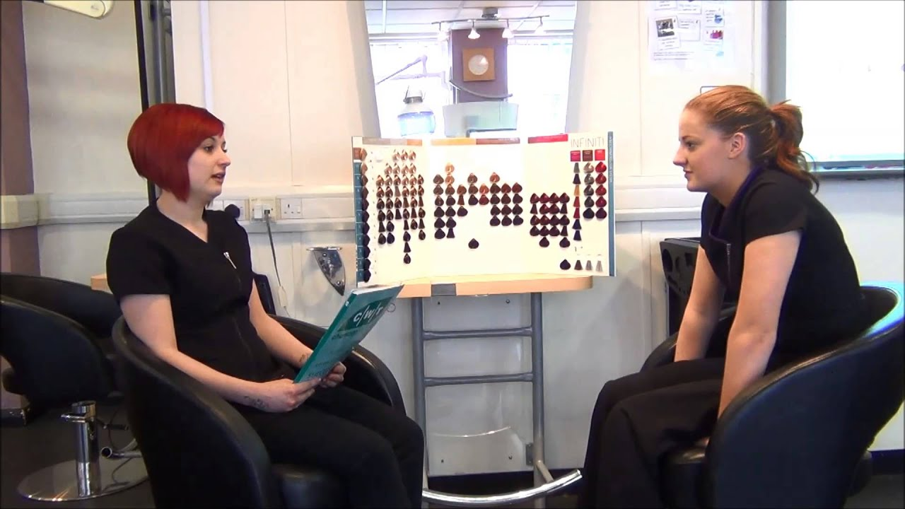 CWT Chamber Training Hairdressing Apprentice Interview - YouTube
