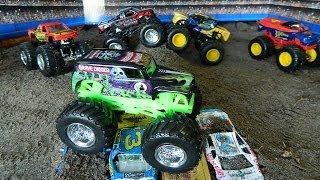 Monster Jam Monster Truck Jumps Toys