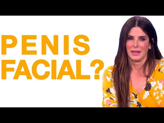 Was Sandra Bullock's Penis Facial Worth It?