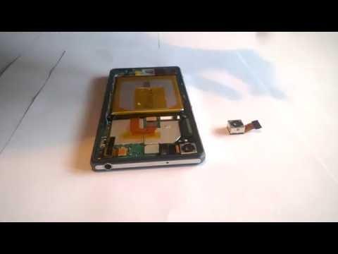 Замена камеры на телефон Sony Xperia Z2