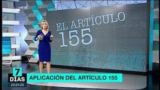 ¿Qué es el artículo 155 de la Constitución?