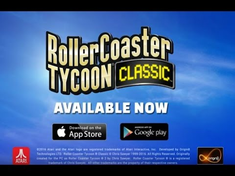 How To Get Roller Coaster Tycoon Classic V 1.1.7.1703021 On Your Phone For Free.No Root.(Android)obb