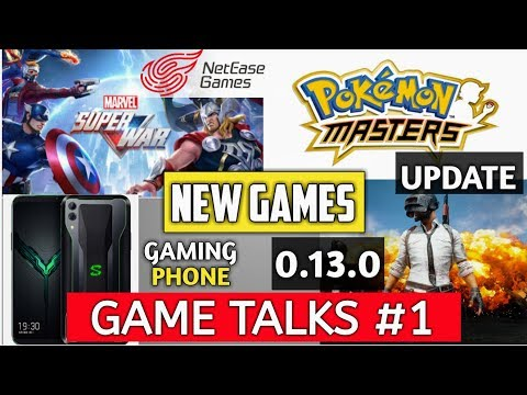 Pokemon New Game Master And Sleep, PUBG Mobile 0.13.0 Release Date | Game Talks #1