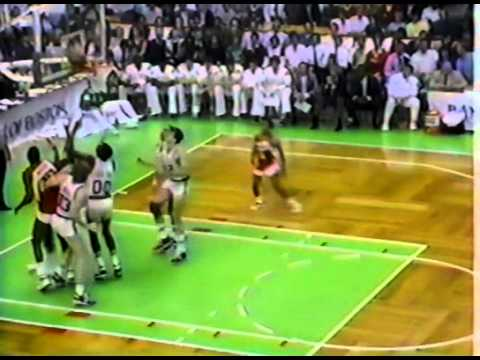 1986 Celtics Famous Third Quarter vs Atlanta (1986 ECSF Game 5)