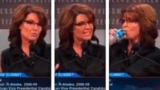 Sarah Palin Out-Palins Herself In Weird, Wild, 'Tragic' Speech