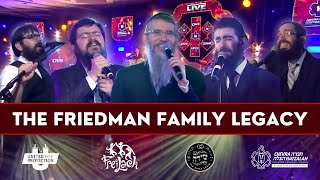 The Friedman Family Legacy – Avremel, Benny, Eli Marcus & 8th Day | Freilach & Shira - Hatzalah-Thon