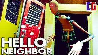 Hello Neighbor БЕЗУМНЫЕ МАНЕКЕНЫ в ШКОЛЕ! Прошел ПОСЛЕДНИЙ СТРАХ Акт 3 в игре Привет Сосед